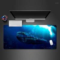 Sourac de souris de la mer Deep Blue Sea Pad Personnalisé Creative 3D Cool Caoutchouc Naturel Best-Selling Office Computer Pads1