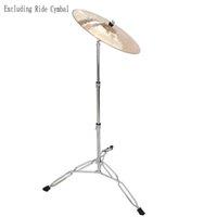 Professionale Dritto Cymbal Stand Drum Hardware Hardware Supporto percussioni Set di ingranaggi Accessori per la musica Adatto per principianti e batteristi