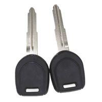 Transponder Car Key Shell Case FOB для Mitsubishi Colt Lancer Mirage Outlander Pajero Удаленный ключ Левый / правый клинок Нет чип
