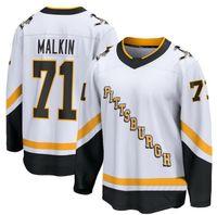 2020 Pittsburgh Penguins Hóquei Jersey Sidney Crosby Branco 20 21 Yakuda Locais Loja Online 87 Crosby 71 Malkin 66 Lemieux Desconto Homens