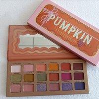 Hot Brand Makeup Eye Shadow Pumpkin Pumpkin 18 Colori Ombretto Shimmer Matte Natale 18Color Eyeshadow Palette