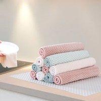 Handtücher Nichtstick Öl Samt Handtuch Küche Schnelltrocknung Hängende Hand Verdickte Handtuch Reinigungstücher