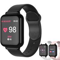 B57 Smart Watch Gimnasia impermeable Tracker Sport para iOS Android Teléfono SmartWatch Monitor de frecuencia cardíaca Funciones de presión arterial # 002