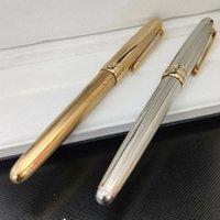 Luxurys 163 Stifte Metall Füllfederhalter Sogar Textured Barrel Schulbüro Schreibwaren Schreibkasten für Business Gift-Stift mit Seriennummer