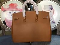 Bolsos de alta calidad de lujo de calidad bolsas Berkin 40 cm-35 cm-30cm mujeres Casual Tote Cadena Bolsa Bolsa de hombro sacos Femme Crossbody Tote Mujer