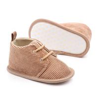 كلاسيكي الأطفال طفل أطفال صبي فتاة أحذية الخريف الأزياء عدم الانزلاق لينة الصغار الأوائل المشاة