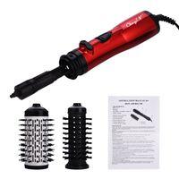 2 1 Seramik Saç Kurutma Bigudi Elektrikli Otomatik Döner Saç Kurutma Fırçası Saç Curling Demir Merdane Tarak Saç kurutma makinesi Styler