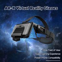 FIIT AR-X AR Smart Glasses Enhanced VR Occhiali Box Cuffie Virtual Realty Casco VR Auricolare per smartphone da 4,7-6.3 pollici LJ200919