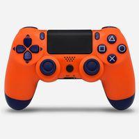 PS4 Contrôleur sans fil Joystick Console de choc Contrôleurs GamePad Bluetooth coloré pour Sony PlayStation Play Station 4 Vibrations avec emballage