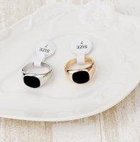 Mens Celtic Biker Ring Svart Tungsten Guldplatta Silver Geometrisk Svart Stone Masonic Gold Sport Ring