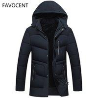 Favocent Bonne Qualité Hommes Jacket Super Warm Epais d'hiver Parkas d'hiver De longues manteaux avec capuche pour les loisirs Hommes Parka Plus Taille 5xl 201023