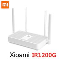 Xiaomi Router IR1200G 2.4GHz 5G WIFI 1167MBS Tarifa de gigabit de doble banda WIFI Repetidor de WiFi 4 Antenas Red Extender Señal Amplificador