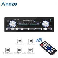1Din AUTO Radio Bluetooth aux FM USB-Auto Audioplayer 1 DIN in-Dash Stereo Autoradio Car MP3-Player mit Fernbedienung1