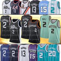 Sexton 2 Lamelo Hayward Ball 20 Gordon Jersey 2 Collin 2 Kawhi 13 Paul Leonard George Basketball Jerseys