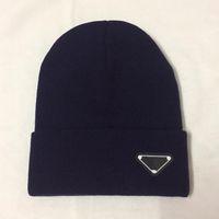 أعلى جودة 2020 رجل المرأة قبعات الجمجمة قبعة بونيه الشتاء الرجال محبوك قبعة قبعات القبعات الدافئة