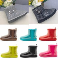 2021 designer clássico lã cashmere 20 curtas II tripla austrália mulheres mulheres boot inverno neve botas mini peludo Bota australiana O9AN #