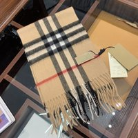 2020 new burbérry classic fashion plaid scarf high quality l...
