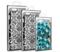 Più nuovo Scatole di imballaggio del pacchetto di vendita al dettaglio del PVC universale universale per iPhone 12 Mini 11 Pro Max XS XR x 8 7 6 Plus Cassa del telefono senza inserto
