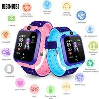 Neue Q12 Kinder Kinder Telefon Uhr Smartwatch mit SIM-Karte für Jungen Mädchen Canera Wasserdichte IP67-Geschenk Smart Watch für Android iOS