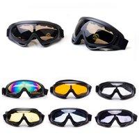 Outdoor Sports Gläser Jagd Schießen Schutzausrüstung Airsoft Goggles Radfahren Sonnenbrillen X400 Shooting Taktische Skibrillen NO02-103