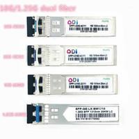 Équipement de fibre optique SFP 1.25G / 10G LC 20/40 / 60km Dual Compatible 1310NMSFP + émetteur-récepteur industriel -40-85Ccompatible avec Mikrotik1