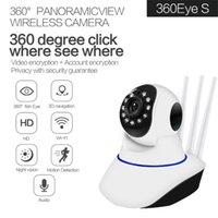 Câmera IP Wi-Fi Rotatable PTZ Vigilância da Câmera Wi-Fi Câmera Home IR Sem Fio CAM Voz Chamada de Voz Movimento Detecção
