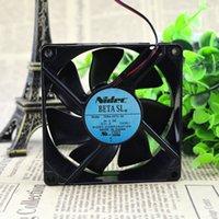 Nueva calidad de alta calidad D08A-24TU 06 24VDC 0.11A Fan de enfriamiento de aire de 0.11A
