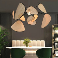 Wood Chandelier Living Room Lighting Dining Room Kitchen cha...