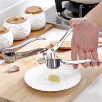 1pc in acciaio inox aglio di aglio pressa da cucina cucina cottura verdure zenzero spremiagrumi maschera palmare zenzero utensili da minerometro ccf4007