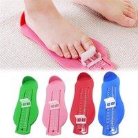 Bebek Çocuk Ayak Ölçü Sahne Bebek Ayakları Ölçer Ölçer Çocuk Ayakkabı Boyutu Ölçme Cetvel Aracı Toddler Ayakkabı Parçaları Ölçer Cihazı