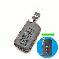 Lederautoabdeckung für Lexus NX GS RX IS ES GX LX RC 200 250 350 LS 450H 300H Key Case Keychain Schlüsselanhänger Zubehör