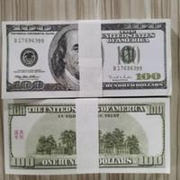 Altes 100 papier gefälschte kopie bills so tunet papier banknote großhandel prop geld 01 geld für dollar sammlung 100pcs / paket pldwk