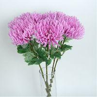 Handgemachte Simulation Chrysantheme Blume Topfpflanze Hochzeit Festival Partei liefert Moderne Minimalismus Stildekoration YHM669-Zwl