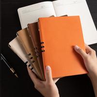 Softcover bloco de notas A5 Diário Pessoal Diário Produtos de Escritório Suprimentos Pu Faux Leather Capa Arquivo Folder Reserve