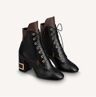 Stivali da donna in pelle moda Stivali da donna Stivali corti Moda Moda Confortevole Morbido Materiale in rilievo Donne Martin Brevi Boots SH02 L3