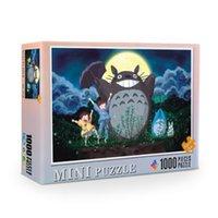 38 * 26cm Puzzle de dessin animé japonais Puzzle Puzzles 1000 pièces Peintures Pictures Jeu éducatif pour adolescents Mini Picture Puzzles en vente