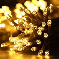 Yeni Tasarım 300-LED Sıcak Beyaz Işık Romantik Noel Düğün Açık Dekorasyon Perde Dize Işık Yüksek Parlaklık Dizeleri Işıkları
