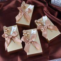 2021 Neueste Hochzeit Favor Candy Boxes Geburtstag Party Dekoration Geschenkboxen Papiertüte Event Party Supplies Verpackung Geschenkbox AL7728