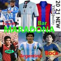 Maradona Newells Retro Jerseys de fútbol Napoli Maglia Camiseta Napoles Maillot Nápoles Maradona Argentina Boca Juniors Bar Men Kits Kits