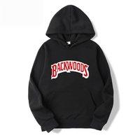 Vida Konu Manşet Hoodies Streetwear Backwoods Hoodie Kazak Erkekler Moda Sonbahar Kış Hip Hop Hoodie Kazak Hoody 201104