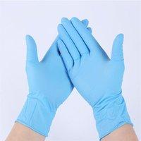 Nuevo en stock 100pcs guantes desechables Guantes de nitrilo Guantes de látex Lavavajillas Servicio de lavado Higiene Higiene Cocina Guantes de limpieza de jardín Mayor