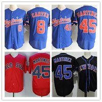 Mens Vintage Montreal Expos #8 Gray Carter Jerseys Stitched ...