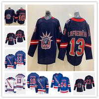 Alexis Lafreniere Reverse Retro 2021 New York Gedey Jersey Artemi Panarin Kaapo Kakko Mika Zibanejad Chris Kreider Adam Fox Gretzky Messie