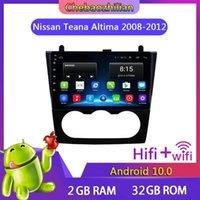 Android 10.0 Coche GPS Navegación Video Player para TEANA ALTIMA 2008-2012 Unidad de cabeza de radio estéreo WiFi Bluetooth1