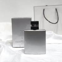 العطر مزيل العرق للعطور للرجال الفضة الطازجة الذكور العطور طويل الأمد العطر EDT100ML تسليم سريع شحن مجاني
