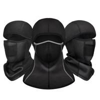 Motocicleta Face Máscara Ciclismo Motocross Completo CS CAB Headwear Thermal Fleece Balaclava Acessórios de ciclo ao ar livre Sportswear