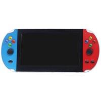 RS-09 Portable 7 inç El oyunu Dahili 3000 Klasik Oyun Fotoğraf Çekmek Video Okuma Retro Oyunları Konsolu