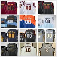 Personalizado Impresso 25 Mark Preço 43 Brad Daugherty 32 Dean Wade 21 Damyean Dotson Javale 6 McGee Windler Homens Mulher Crianças Juventude Basketball Jerseys