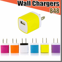 848D 5V 1A Travel Power Adapter Home Wall Charger Charging P...