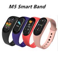M5 Smart Pulsera Men Fitness Smart Muñequera Mujer Sports Tracker SmartWatch Play Pulsera Música M5 Banda para Adriod IOS